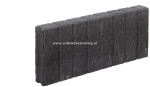 Palissadeband vierkant 6x60x50 cm Antraciet