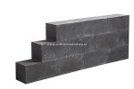 Linea Block Strak 15x15x30 cm Black MBI