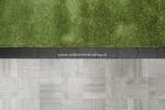 Graskantsteen 33x16x4.5 cm Antraciet (per 15 stuks)