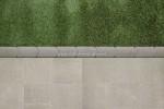 Graskantsteen 33x16x4.5 cm Grijs (per 15 stuks)