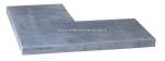 Hoek Vietnamees Blue Stone Linea 3x20x50/50 cm