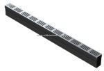 ACO Slim-Line 100 cm met BLANK aluminium designrooster
