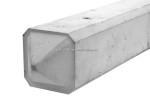 Beton hoekpaal punt wit/grijs275x10x10cm (tbv 1
