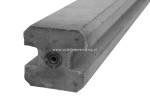 Beton Sleufpaal 275x11,5x11,5 cm Wit