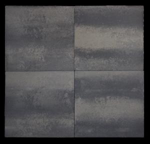 Trento 60x60x4,7 cm Grijs/zwart